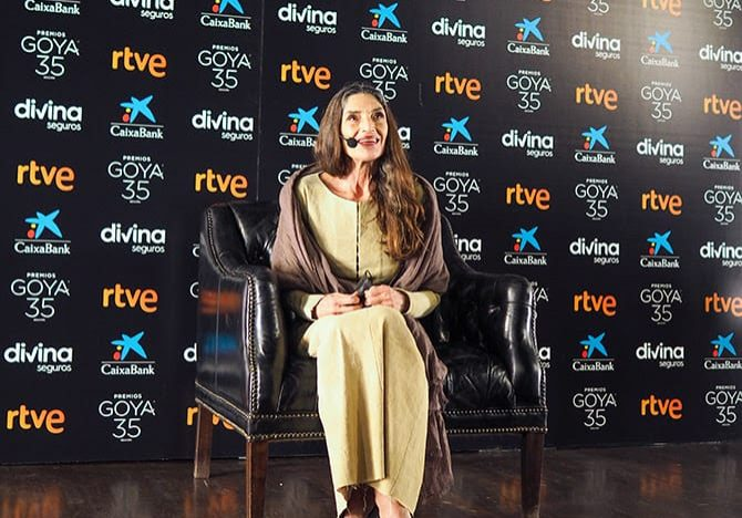 Angela Molina en los Goyas