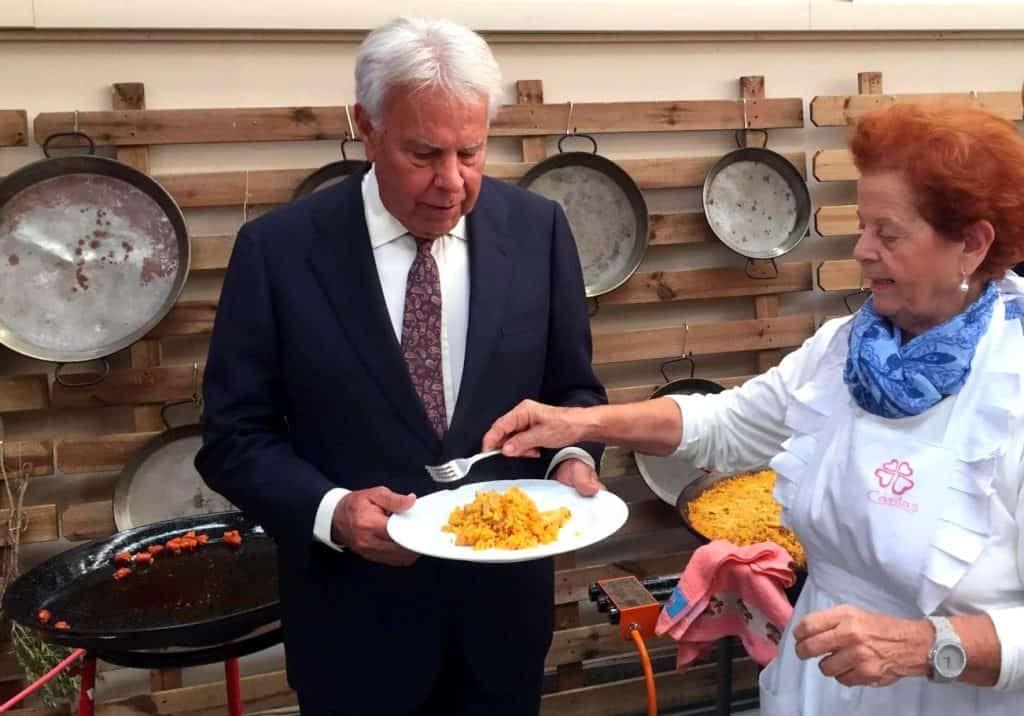 paella felipe gonzalez come paella